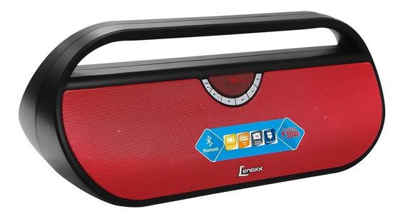 Caixa De Som Speaker Lenoxx Music Bt540 Bivolt 30rms