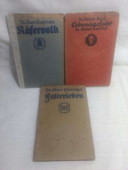 Livro Em Alemão Raferdolr Falterleben Cebensgefahr Antigos