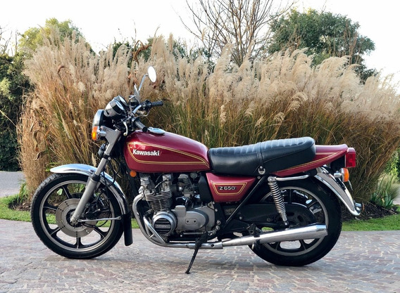 Kawasaki Z650 1980 Titular