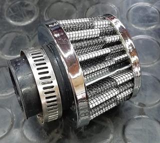 Filtro Aire Conico Filtro Admision Directa Rendimiento filtro de aire Inducci/ón de Kit Pit Bike pl/ásticos Carburador limpiador Black,51mm