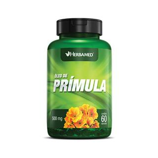 Óleo De Prímula 60 Capsulas 500mg Herbamed
