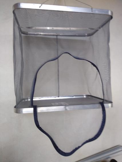 Caixa De Secar Carne Em Aluminio Dobrável