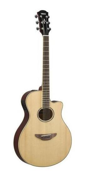 Violão electroacústico Yamaha APX600 abeto natural