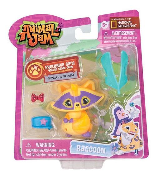 Animal Jam Amigos Pet Guaxinim - Fun Divirta-se