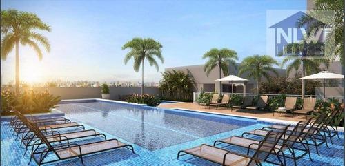 Apartamento Com 2 Dormitórios À Venda, 55 M² Por R$ 466.500,00 - Sacomã - São Paulo/sp - Ap1489