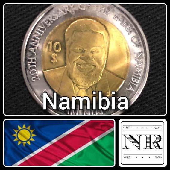Namibia - 10 Dolares 2010 - Km # 21 - Dr. Sam Nujoma