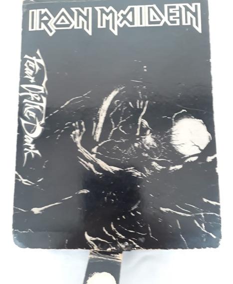 Iron Maiden Box Promo Caixa Fear Of The Dark Coleção Raro