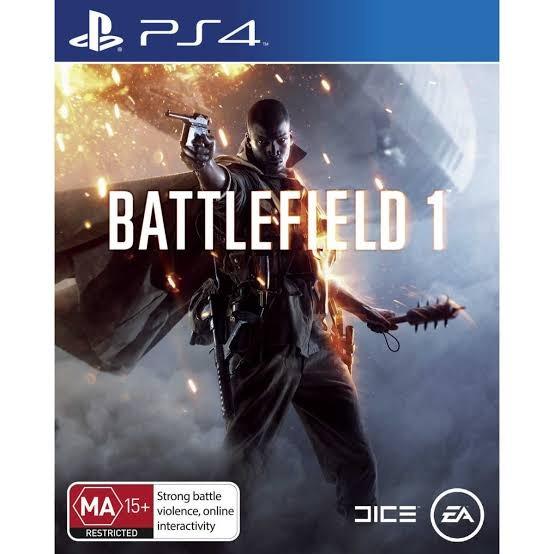 Battlefield 1 Ps4 Primária Digital