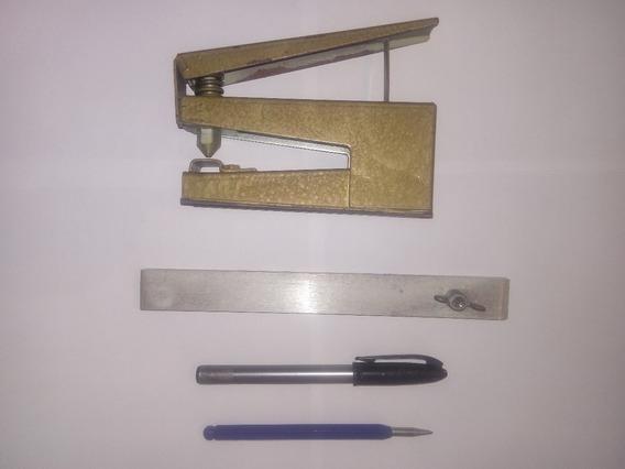 Kit Perfurador Suetoku Placa De Fenolite Circuito Impresso