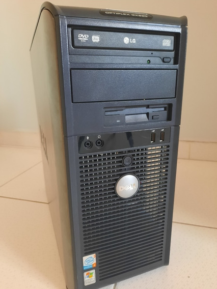 Computador Dell Optiplex Gx620 P4, 2.5gb Ram, Hd 160gb Wi-fi