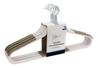 Paquete De 10 Ganchos Con Antideslizante