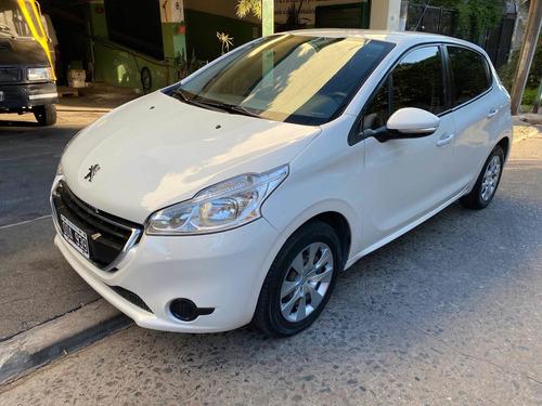 Peugeot 208 2014 1.5 Active Financiado En Cuotas