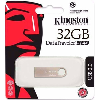 Pendrive Kingston 32 Gb Dt Se9 Original Garantia. Oeste/mdp