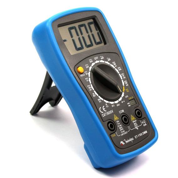 Multímetro Digital Et - 1100a Cat Ii 600v - Azul