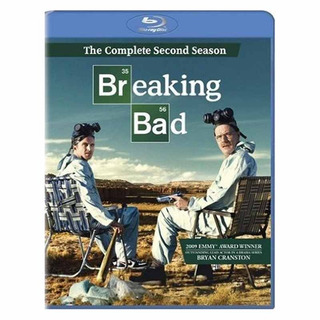 Breaking Bad The Second Season Importado Bluray X 3 Nuevo