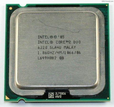 Processador Intel® Core2 Duo E6320 4m Cache,1.86 Ghz,1066