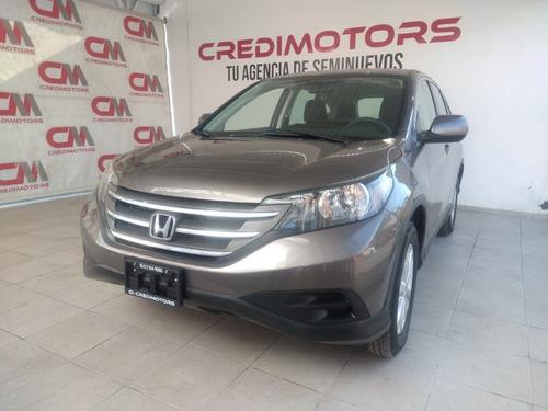 Imagen 1 de 10 de Honda Crv Lx Color Plata 2014