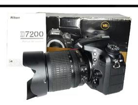 Máquina Nikon D 7.200