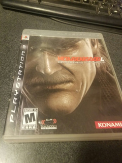 Metal Gear Solid 4 Ps3 Playstacion 3