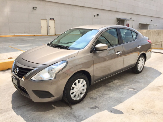 Nissan Versa Sense Automatico 2018 Factura Nissan Impecable