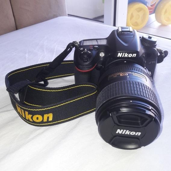 Nikon D7100 Com Lente 18-300mm + Kit Completo