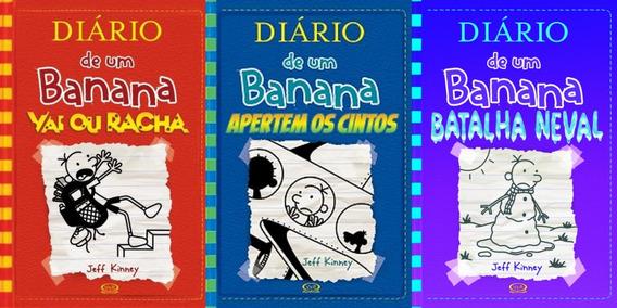 Diário De Um Banana Volumes 11, 12 E 13 Capa Dura Dura