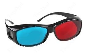 Óculos 3d Em Plástico Ultra Resistente - Produto No Brasil !