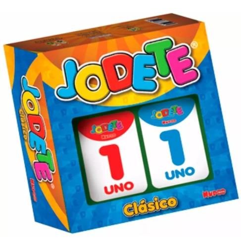 Juego De Mesa Jodete Clasico Juego De Cartas Familiar Nupro