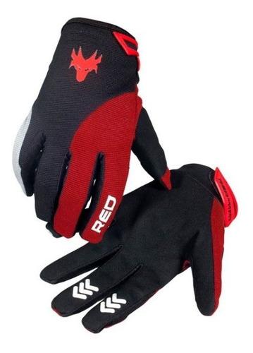 Luva De Proteção Racing Gg Vermelha Red Dragon