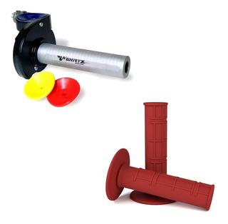 Acelerador Rapido Wirtz® Honda Tornado Xr Cr + Puños
