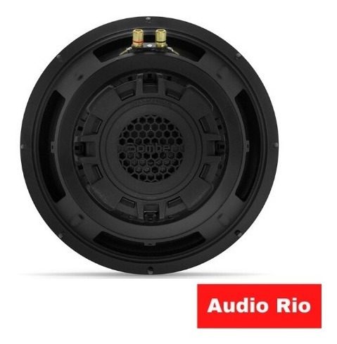Subwoofer 12 Pulgada Bomber Carbon 250w 4 Ohms Bobina Simple