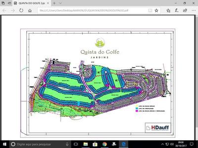 Terreno À Venda, 642 M² Por R$ 642.000 - Condomínio Quinta Do Golfe Jardins - São José Do Rio Preto/sp - Te0948