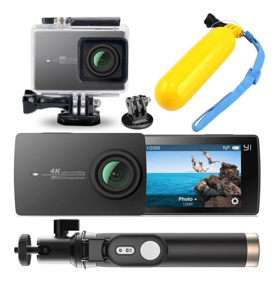 Câmera Xiaomi Yi 2 4k 12mp Filmadora Original + Acessórios