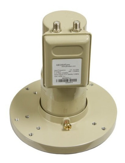 Lnb Banda C Geosatpro Original 2 Salidas Patentado Usa