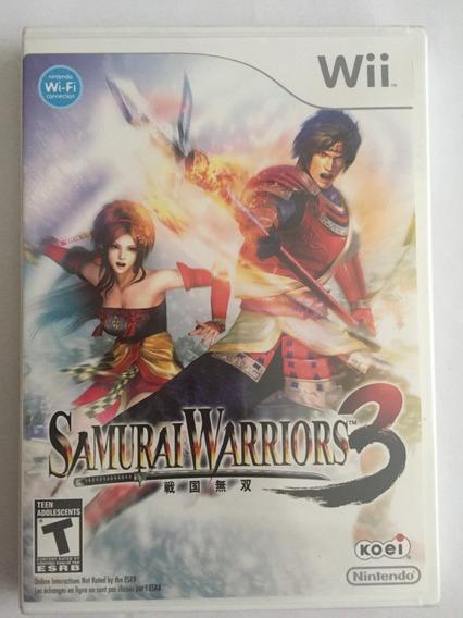 Samurai Warriors 3 Original Wii