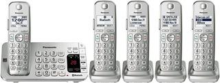 5 Telefonos Inalambricos Panasonic Kx-tge475s