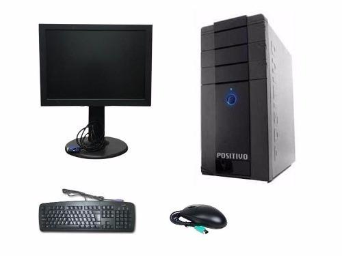 Cpu Completa 2gb Hd 500gb + Monitor 15