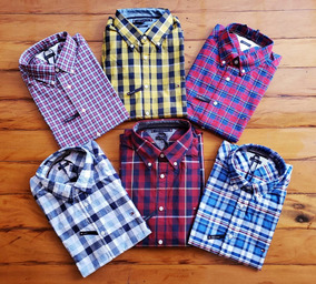 Camisa Xadrez Tommy Hilfiger