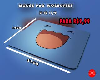 Mouse Pad Wobbuffet