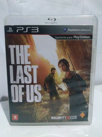 Jogo The Last Of Us Pt/br Midia Fisica Ps3 R$85