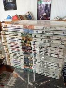 Manga Claymore 16 Volumes Frete Gratis