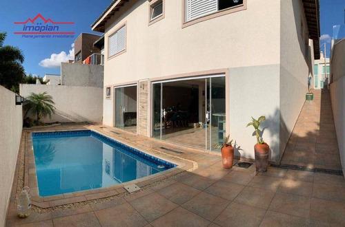 Imagem 1 de 16 de Casa Com 3 Dormitórios À Venda, 218 M² Por R$ 890.000,00 - Condomínio Terras De Atibaia I - Atibaia/sp - Ca4808