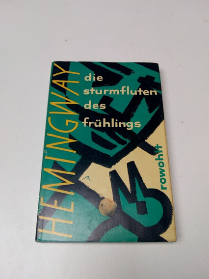 Livro Die Sturmfluten Des Fruhlings