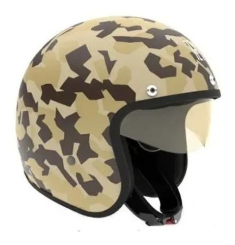 Imagen 1 de 1 de Casco para moto abierto Hawk 721 kuwait talle S