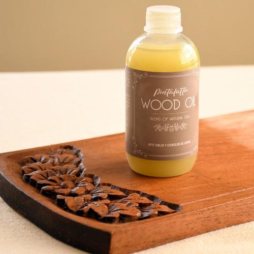 Pintalatte Wood Oil Aceite Natural Premium Neutro Maderas
