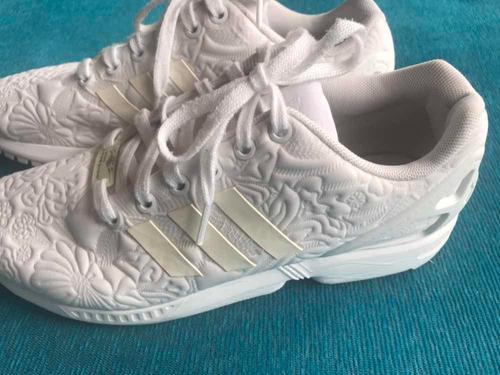 barricada Gruñido Equipo de juegos  Zapatillas Mujer adidas Torsion Blancas Flores Nro 40 | Mercado Libre