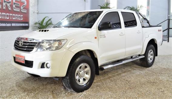 Toyota Hilux 4x4 C/d Sr 3.0 Tdi-c3 Blanco Nafta 2015
