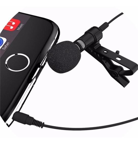 Microfono Balita Lavalier Smartphone Celulares 3.5mm Geobyte