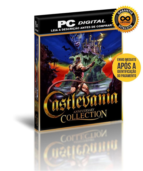 Castlevania Anniversary Collection - Pc Digital + Brinde