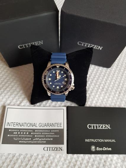 Citizen Eco-drive 200m Promaster Divers Blue Bn0151-09l